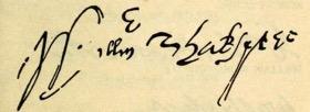 signature shakespeare article
