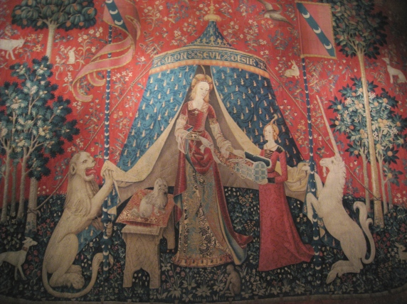 Cluny museum tapestry