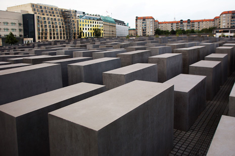 GERMANY, Berlin. Memorial to the Victims of the Holocaust.